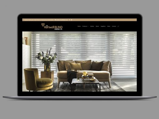 Hartwell Blinds Website Design